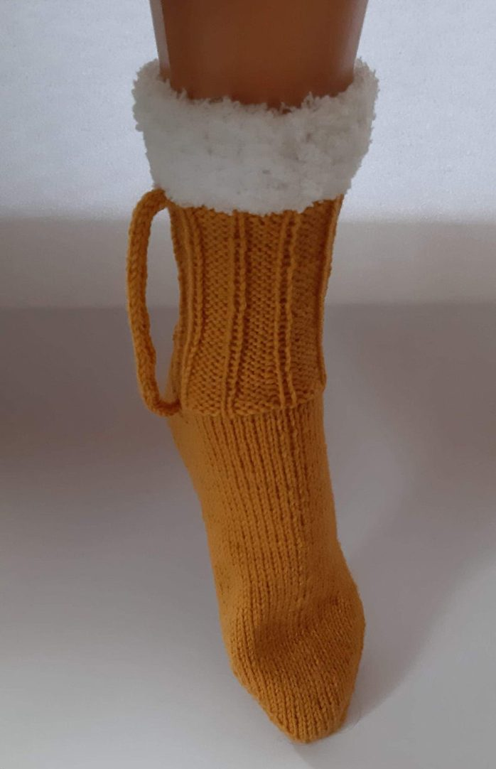 artcrochethandmade beer mug socks knitted wool yarn