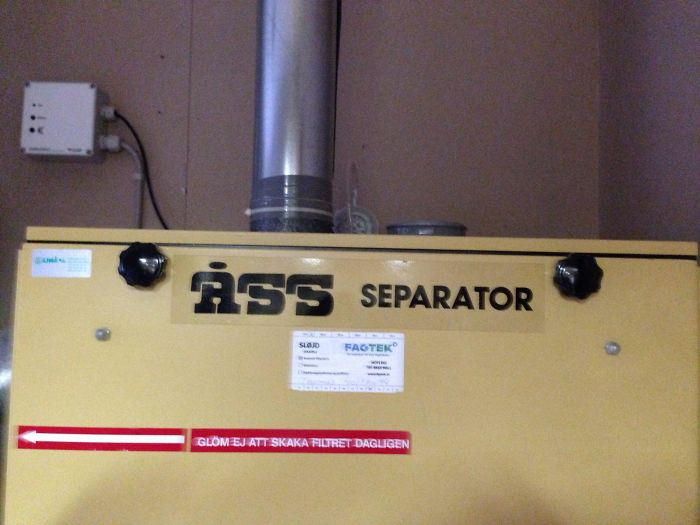 bad school designs ass separator machine