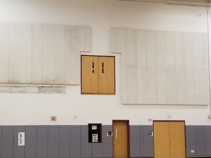bad school designs gym entrance too high