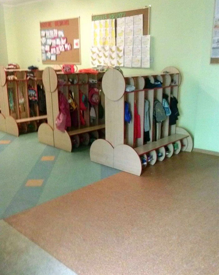 bad school designs hangers shape