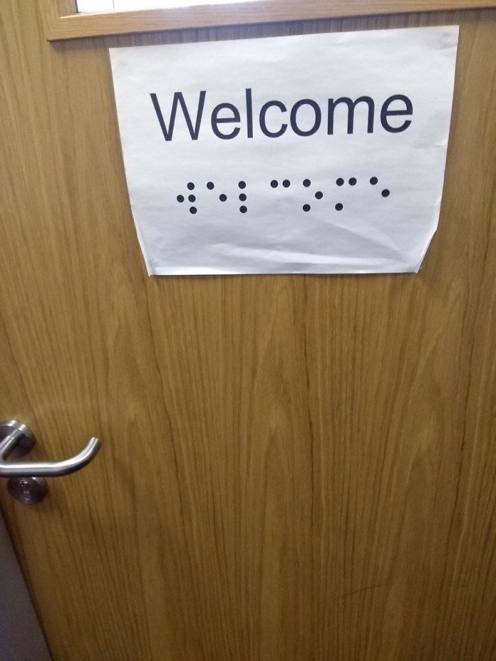 bad school designs intangible braille