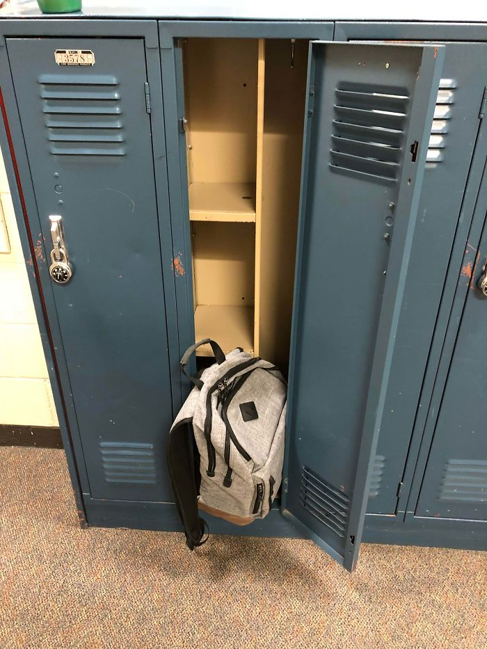 bad school designs locker shelves