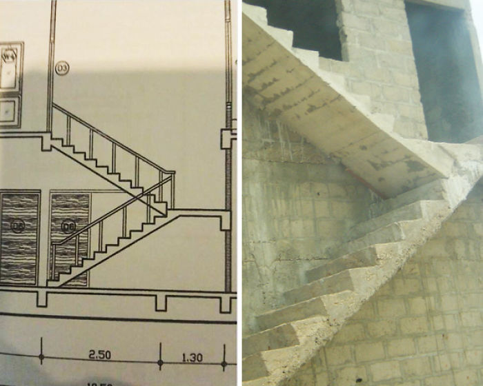 bad stair designs execution fail
