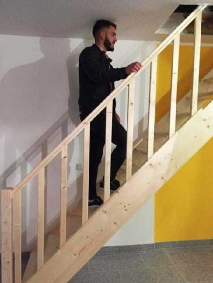 bad stair designs for short people