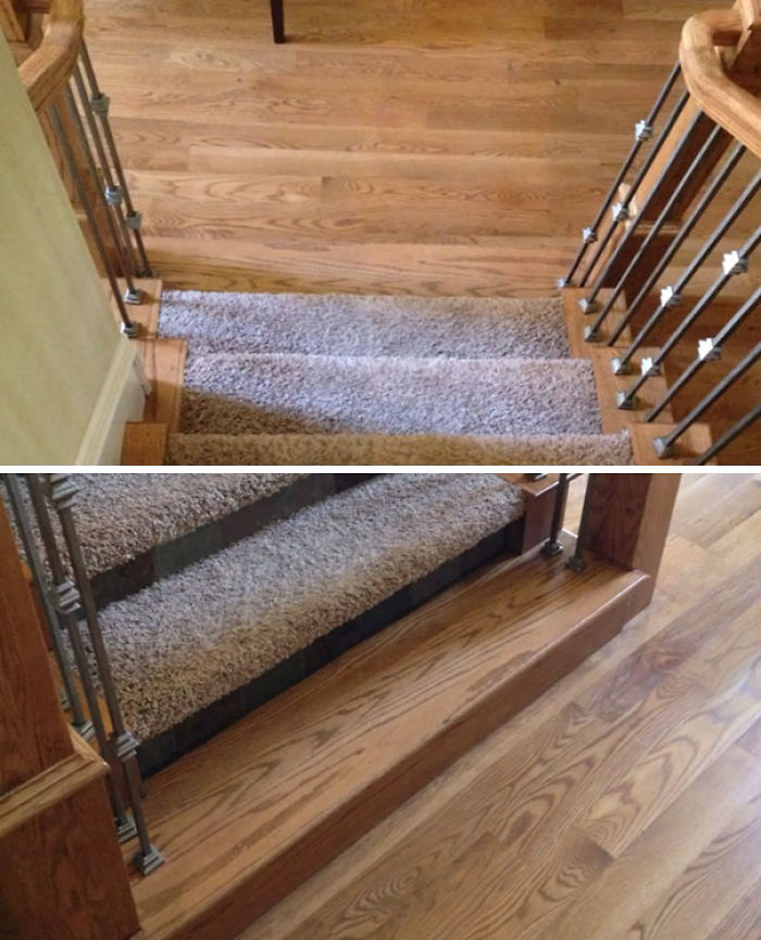 bad stair designs invisible step