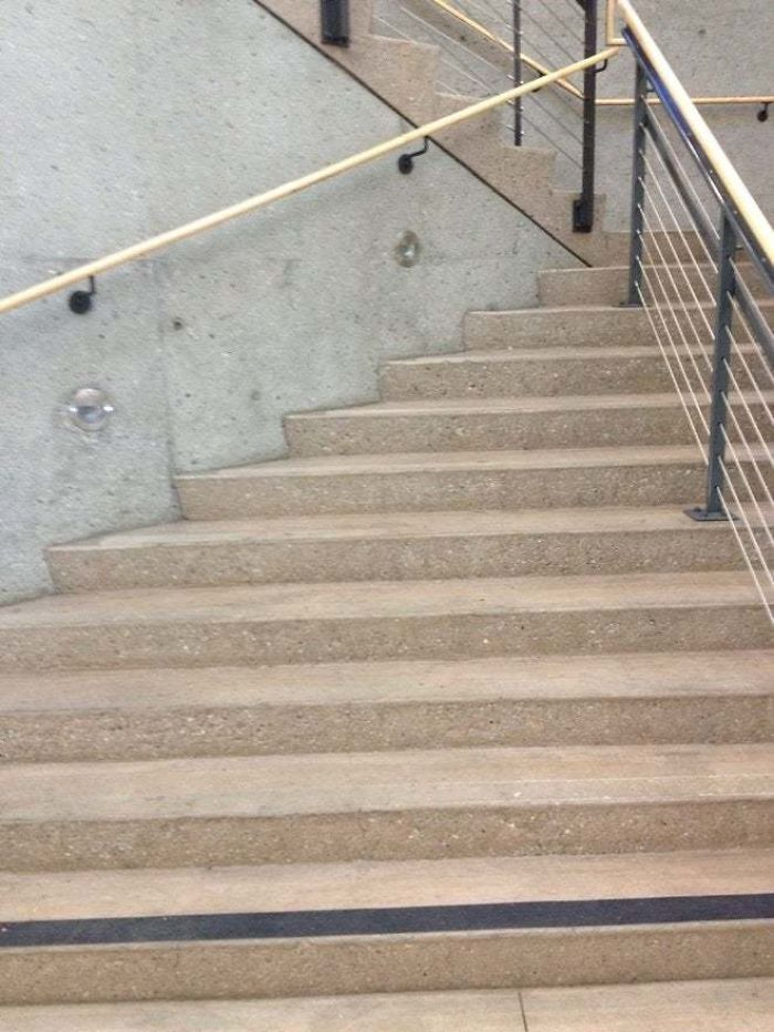 bad stair designs school