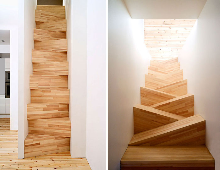 bad stair designs sloping steps