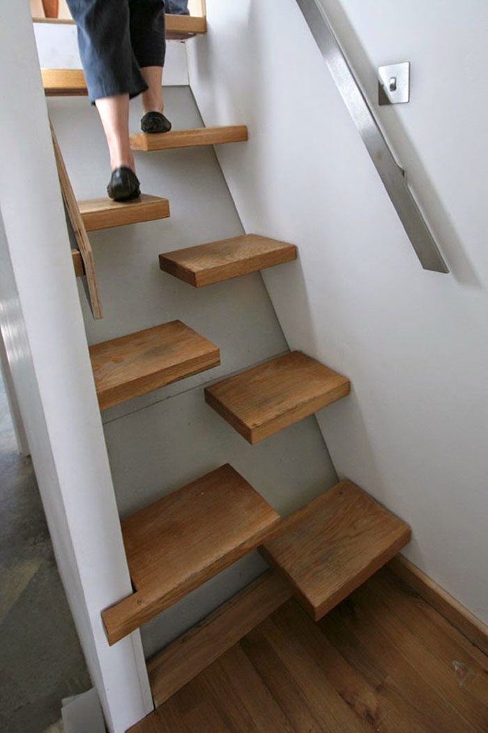 bad stair designs space saving steps