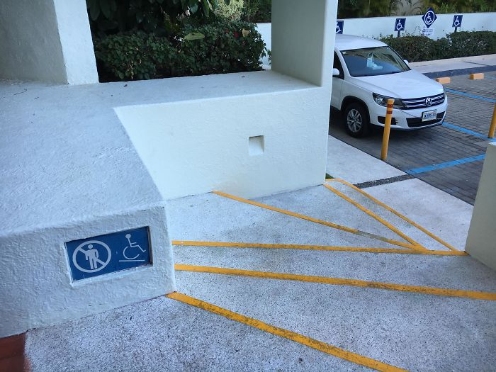 bad stair designs wheelchair ramp