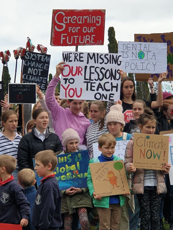 best climate strike signs missed lessons