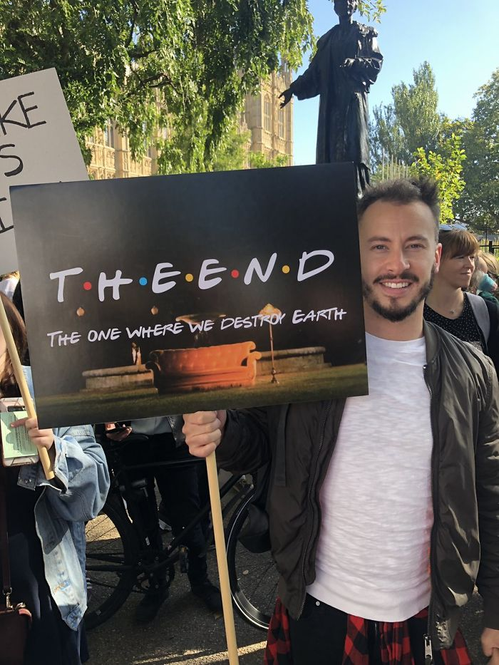 best climate strike signs the end