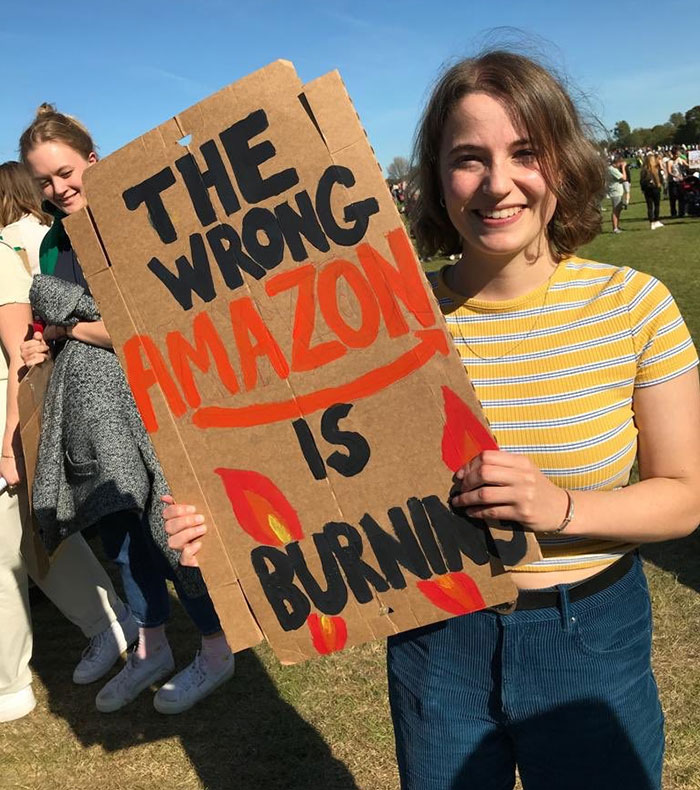best climate strike signs wrong amazon burning