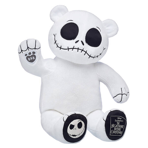 build-a-bear's nightmare before christmas collection jack skellington plush doll
