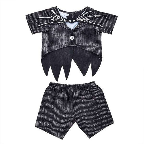 build-a-bear's nightmare before christmas collection jack skellington suit