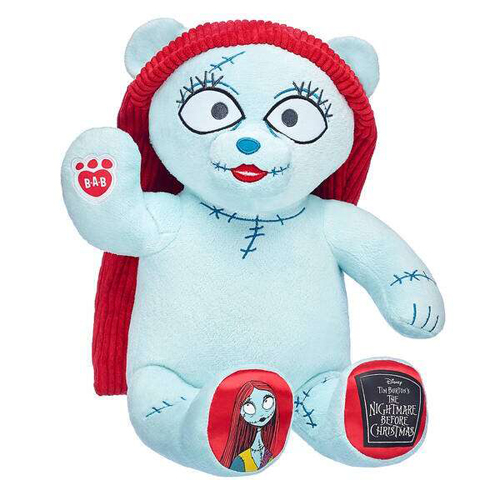 build-a-bear's nightmare before christmas collection sally plush doll