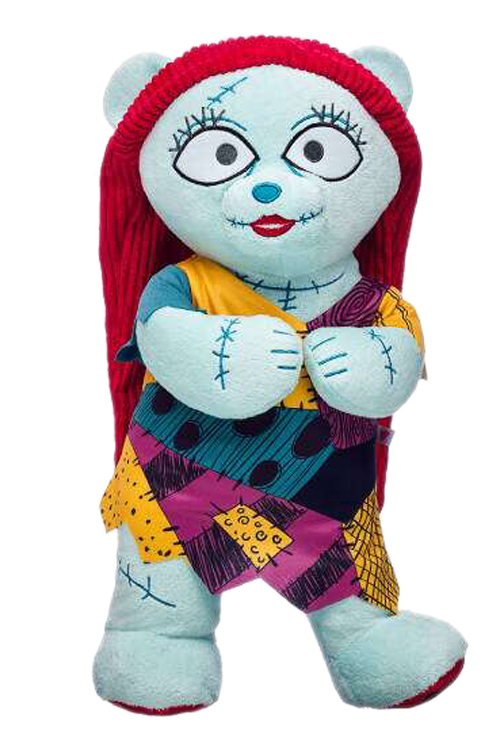 build-a-bear's nightmare before christmas collection sally