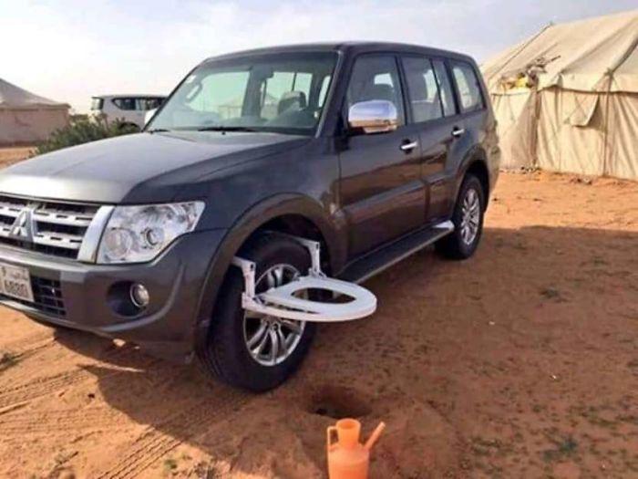 car toilet attachement