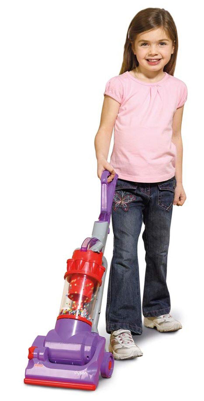 casdon dyson vacuum toy purple for kids