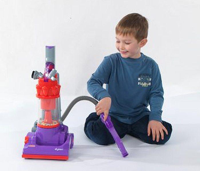 casdon dyson vacuum toy purple wand suction