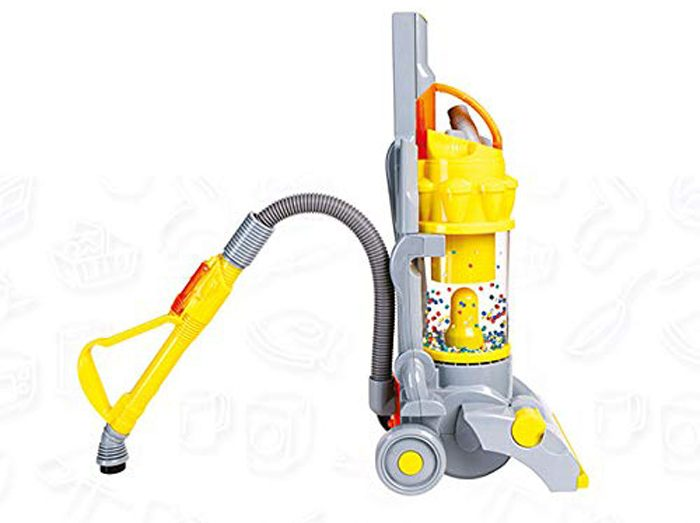 casdon dyson vacuum toy working suction