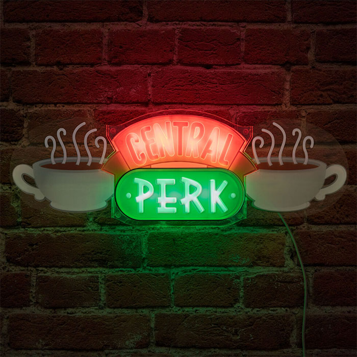 central perk neon sign