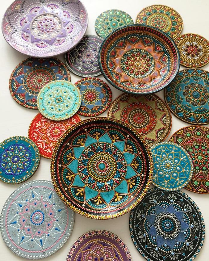 ceramic plates mandala art ceramic plates anastasia safonov