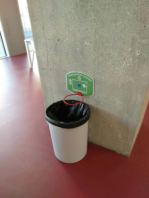 clever eco-friendly ideas basketball trash can
