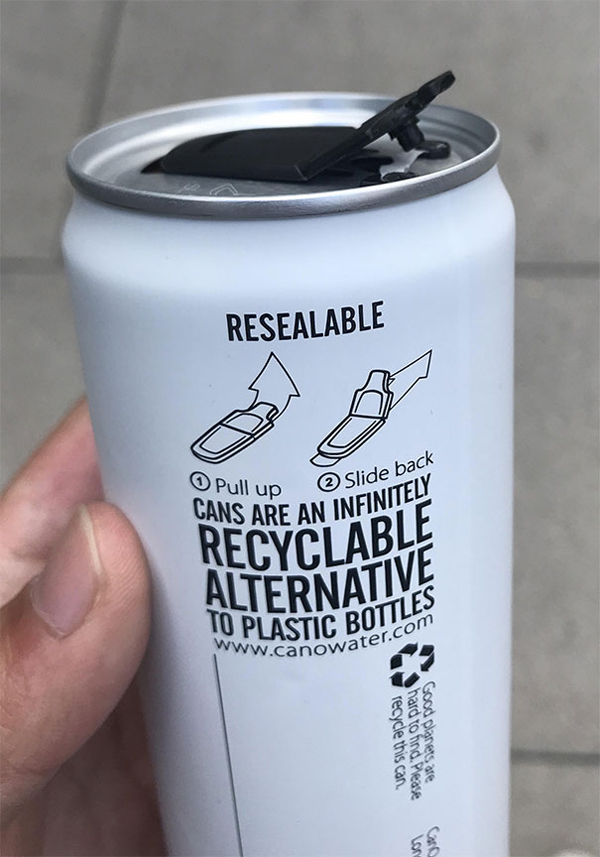 clever eco-friendly ideas resealable can