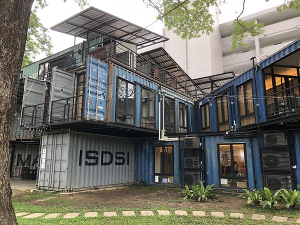 clever eco-friendly ideas shipping container office