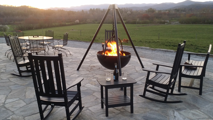 cowboy cauldron outdoor fire pit