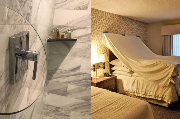 creative hotel ideas