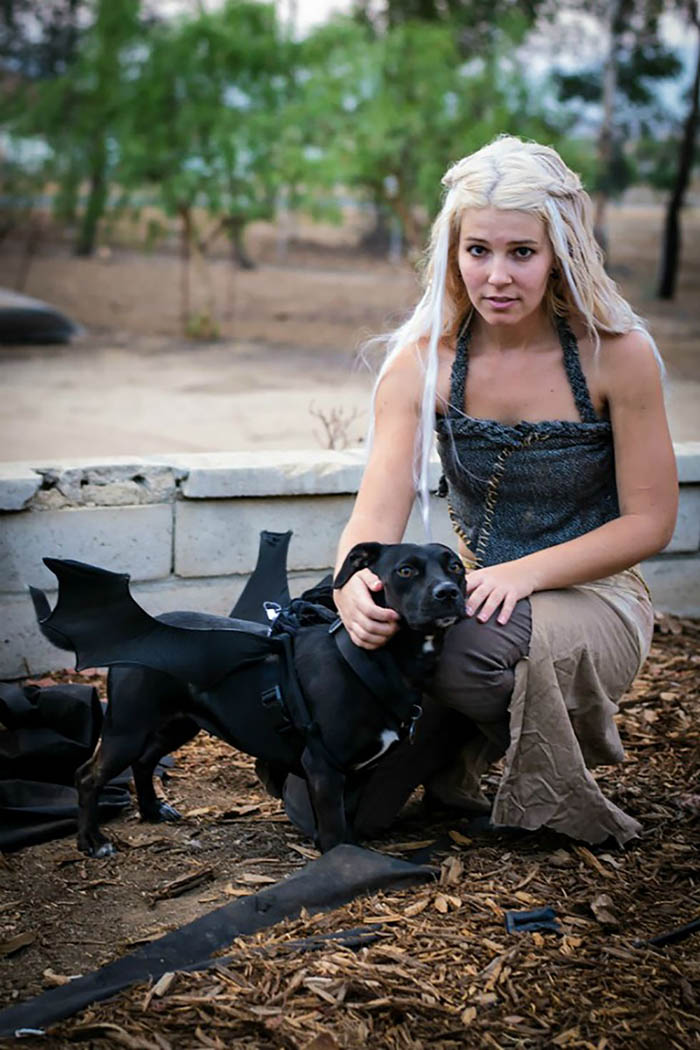 Daenerys Targaryen and Dragon Costume