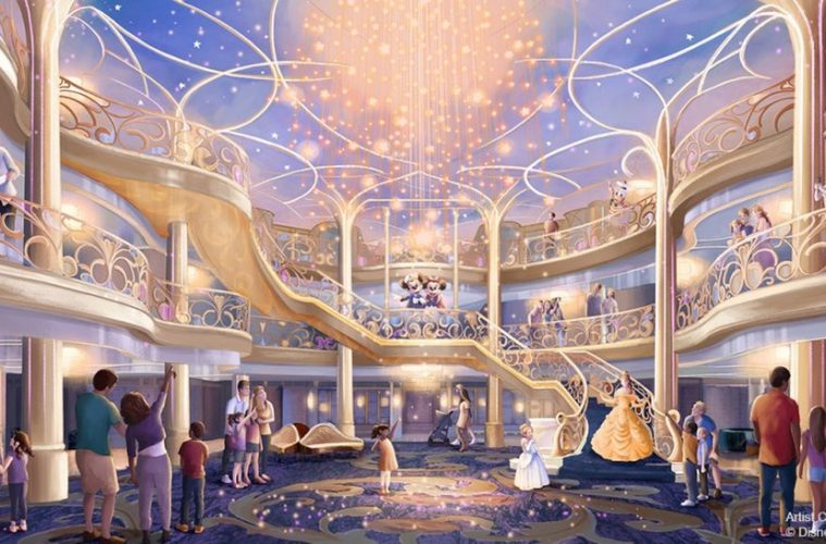 Disney Wish Cruise Ship