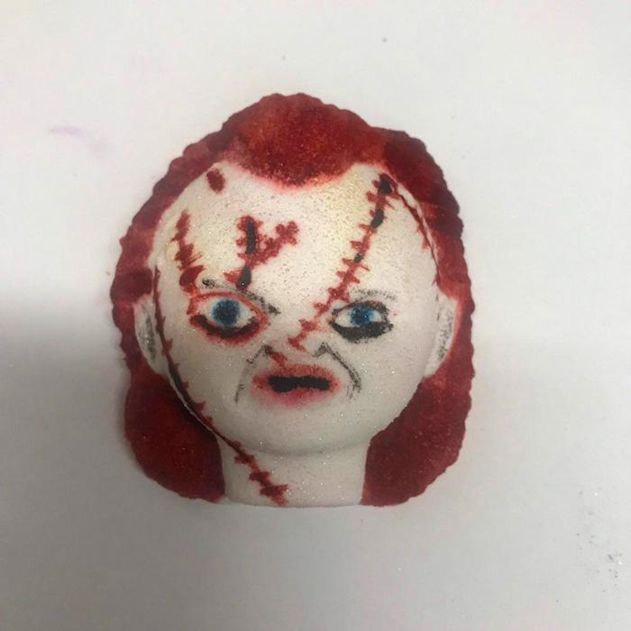 etsy chucky doll bath bomb