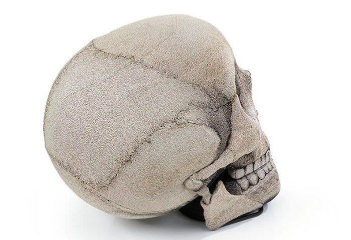 etsy skull bean bag chair back