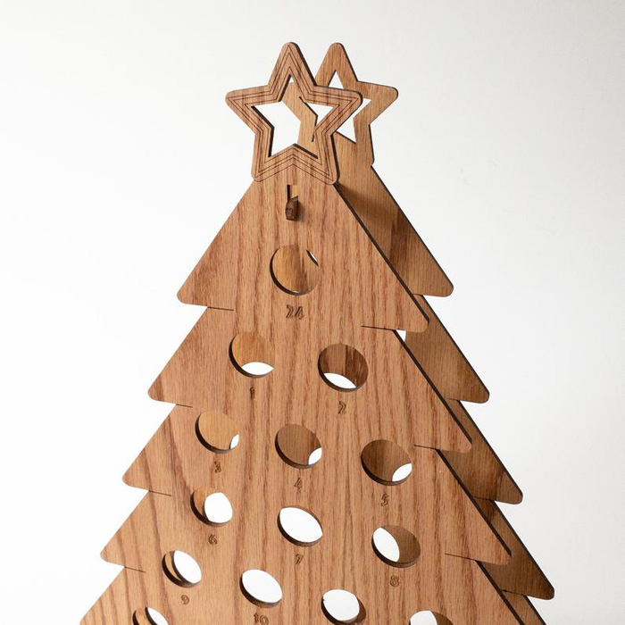 Wine Bottle Christmas Tree Craft.This Wine Bottle Advent Calendar Is The Perfect Way To