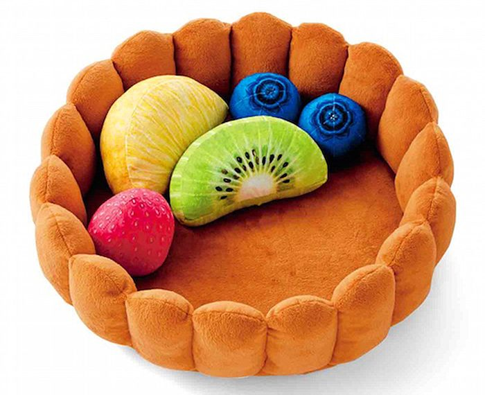 felissimo fruit tart cat bed