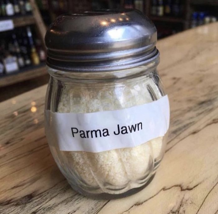 funny mispronouncing words parma jawn cheese
