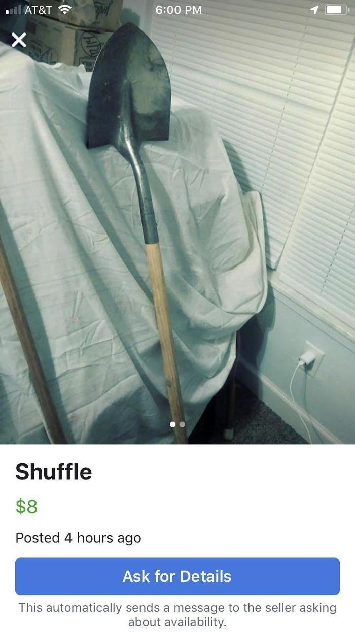 funny mispronouncing words shuffle shovel