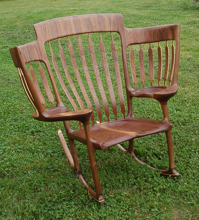 hal taylor three-seater rocking chair story time