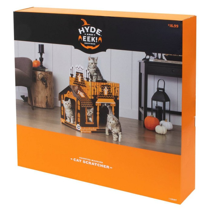 haunted cat house box