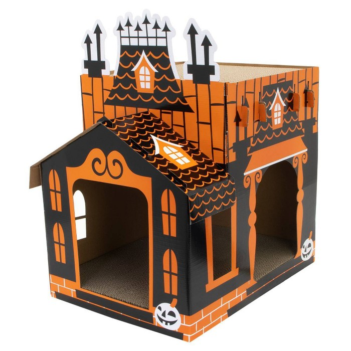 Haunted Cat House front view