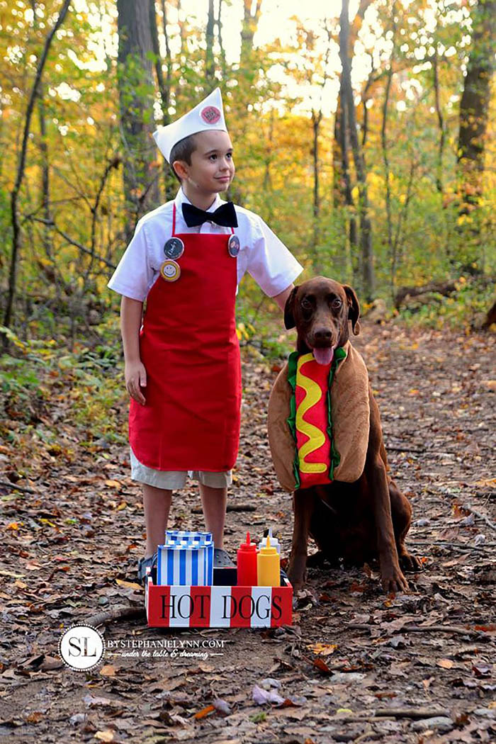 Hotdog Dog Costume