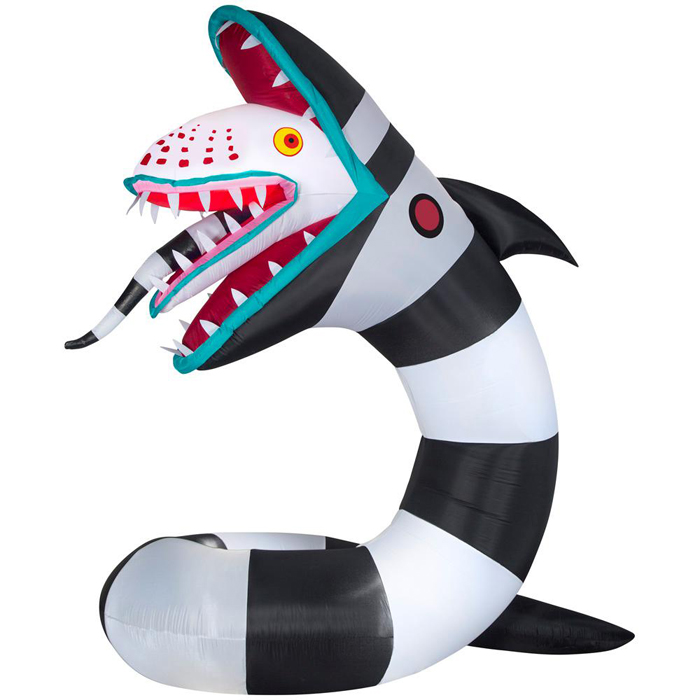 inflatable beetlejuice sandworm home depot
