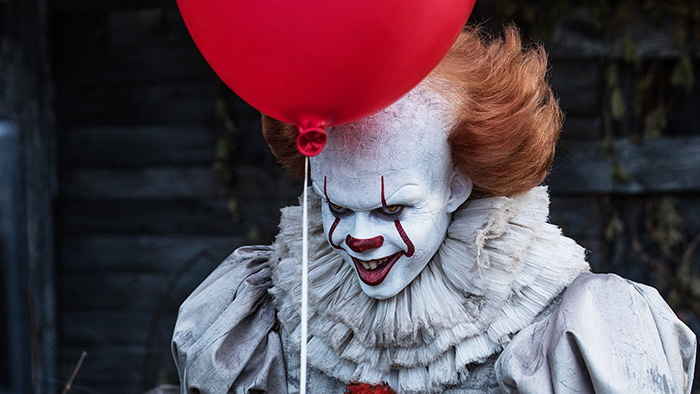 it movie pennywise clown red balloon