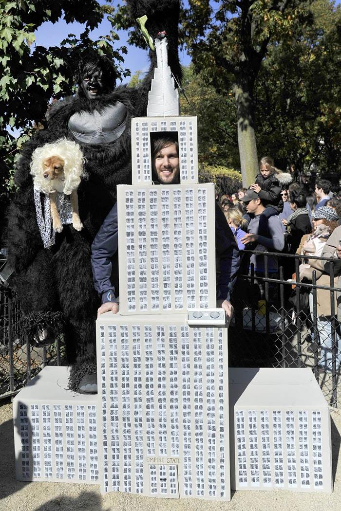 King Kong Anne Darrow Dog Costume