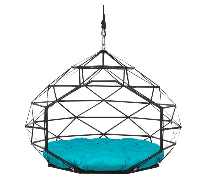 kodama zome small hanging caged lounger beach