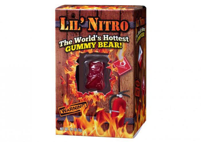 lil nitro hottest gummy bear in the world
