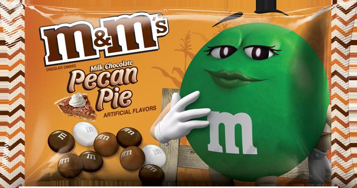 m&m's pecan pie flavor