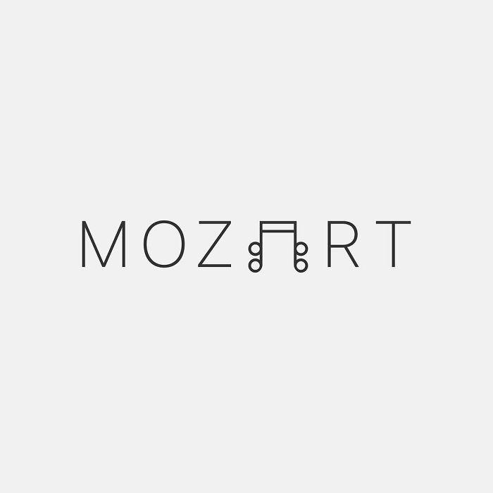 mustafa omerli creative logo designs mozart